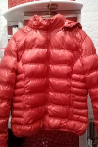 Czerwona kurtka damska zimowa