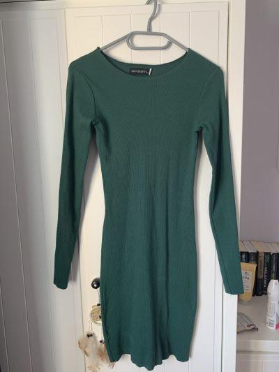Suknie i sukienki Sukienka w kolorze zielonej butelki