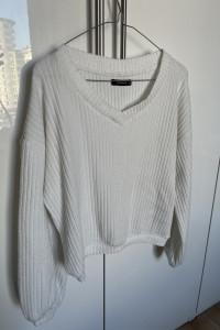 Sweter biały Reserved