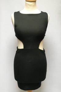 Sukienka Czarna NOWA Asos XS 34 Odkryte Plecy Ołówkowa...