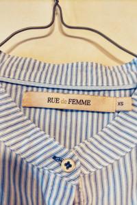 Koszula w paski Rue de Femme...