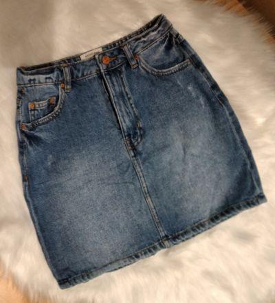 Spódnice Jeansowa spódniczka xs