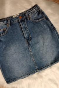 Jeansowa spódniczka xs