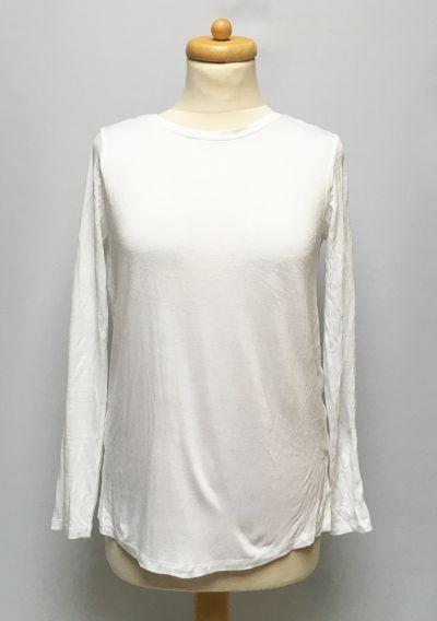 Bluzki Bluzka NOWA Koszula Długi Rękaw Asos Odkryte Plecy XS 34