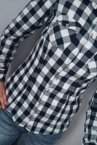 Koszula w kratę XS S