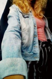 Kurtka jeansowa katanka...