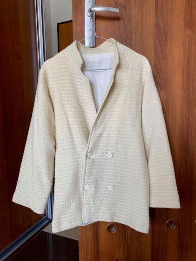 Odzież wierzchnia Lekki płaszcz marynarka vintage retro rozmiar 34 36 XS S
