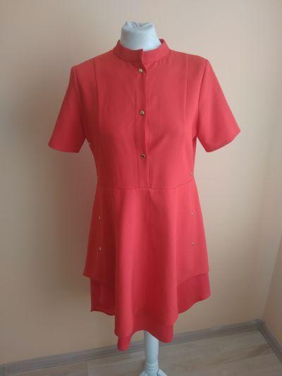 Suknie i sukienki Malinowa sukienka