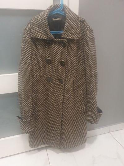 Odzież wierzchnia Płaszcz Promod 38 M zimowy wełna