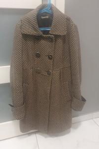 Płaszcz Promod 38 M zimowy wełna