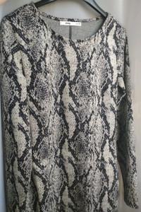 SUkienka emitacja skóry węża...