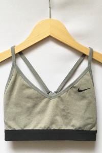 Stanik Sportowy Szary Biustonosz S 36 Nike Fitness
