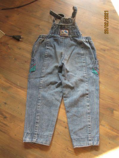 Spodnie i spodenki Spodnie ogrodniczki rozmiar 98