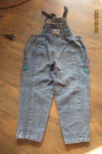 Spodnie ogrodniczki rozmiar 98