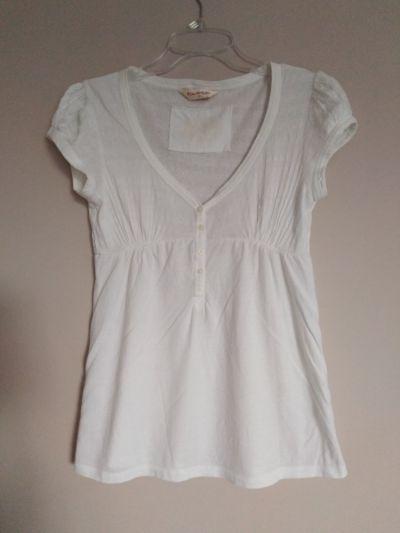 Bluzki Miss Selfridge biała bluzka 38 M elegancka wizytowa delikatny ażur
