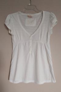 Miss Selfridge biała bluzka 38 M elegancka wizytowa delikatny a...
