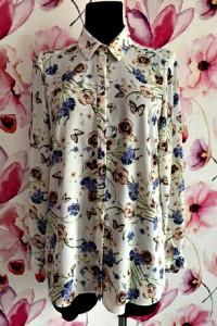 george koszula modny wzór kwiaty motyle hit blog 40...