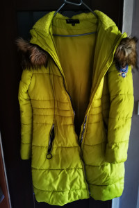 Pikowana zimowa kurtka...