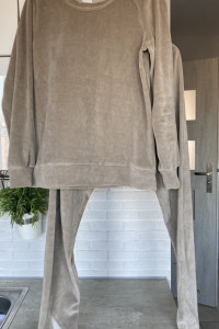 Stone Skirts nowy dresowy komplet bluza spodnie szare dresy rozmiar XS