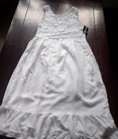Suknie i sukienki Biała sukienka nowa z metką