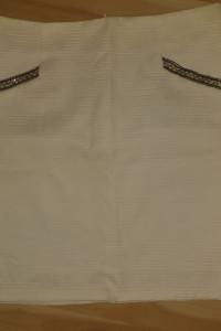 Spódnica kremowa ołówkowa Osray XL...