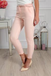 Freesia spodnie pudrowy róż 38 M