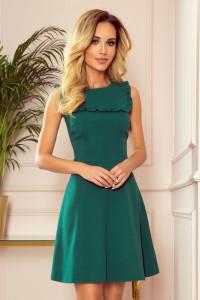 Blanca sukienka uroczy dekolt zieleń butelkowa 36 38 40 42...