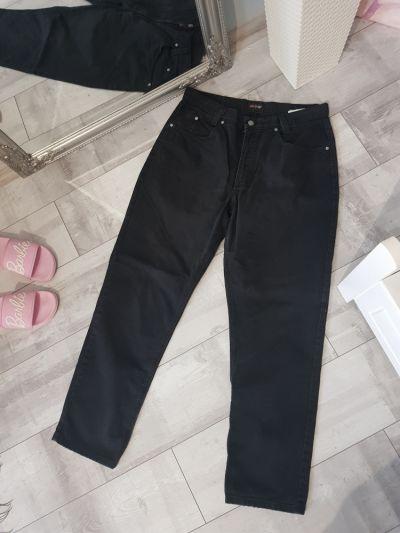 Spodnie Czarne proste spodnie
