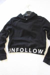 czarna bluza bawełniana xs