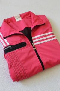 różowa bluza adidas L