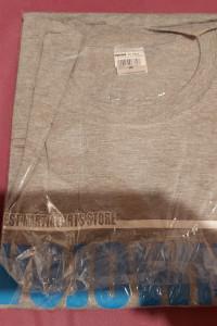 Nowy oryginalny tshirt Wojownik XL GREY...