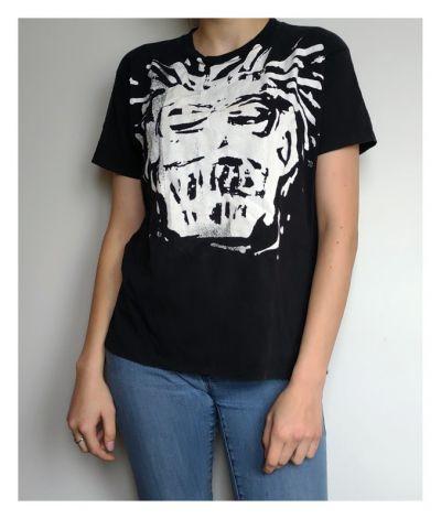 T-shirt Koszulka z białym nadrukiem