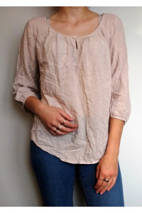 Beżowa bluzka Vero Moda...
