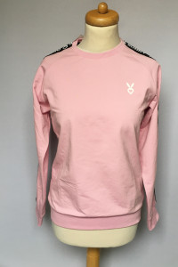 Bluza NOWA Różowa M 38 Dresowa Cardio Bunny Pudrowa...