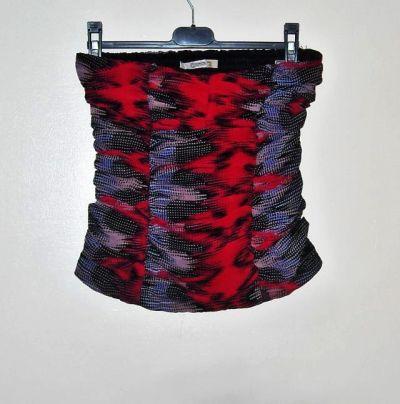 Bluzki kolorowy top stradivarius s