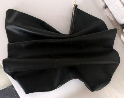Torebki wieczorowe Handmade torba kopertówka czarna skaj do ręki NOWA