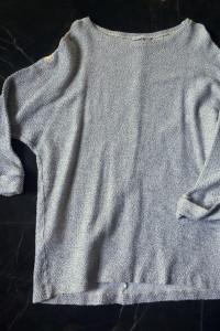 ZARA sweter bluza tunika szara rozm S 36 NOWY...