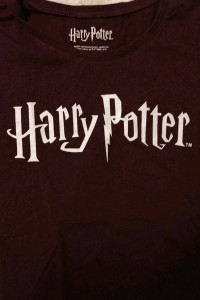 Tshirt bluzka bordowa sinsay Harry Potter M...