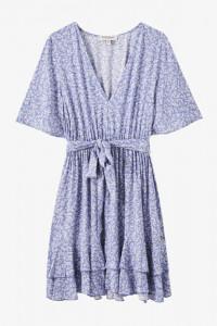 letnia błękitna sukienka pull&bear...