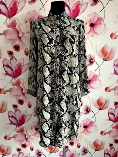 Suknie i sukienki atmosphere sukienka koszulowa modny wzór węża skora hit 34