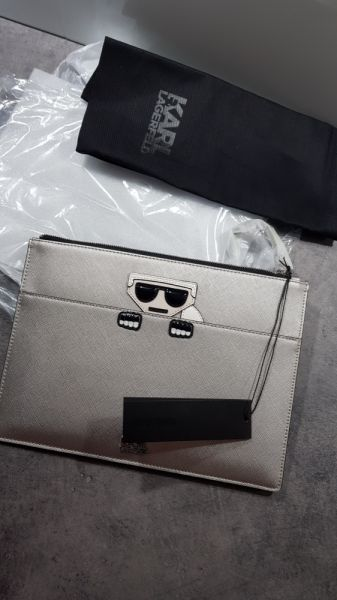 Torebki na co dzień Oryginalna kopertówka Karl Lagerfeld