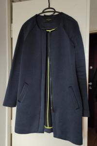 Granatowy płaszczyk wiosenny Reserved...