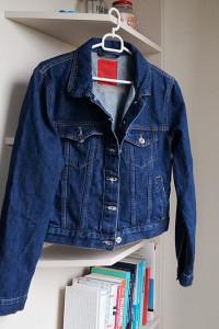 Kurtka jeansowa z falbanką Pull&Bear M