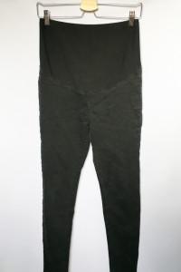 Spodnie H&M Mama Slim S Czarne Ciążowe Rurki...