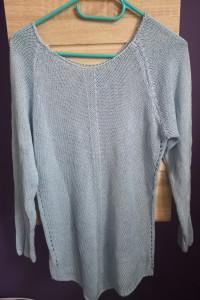 Niebieski sweterek wełniany...