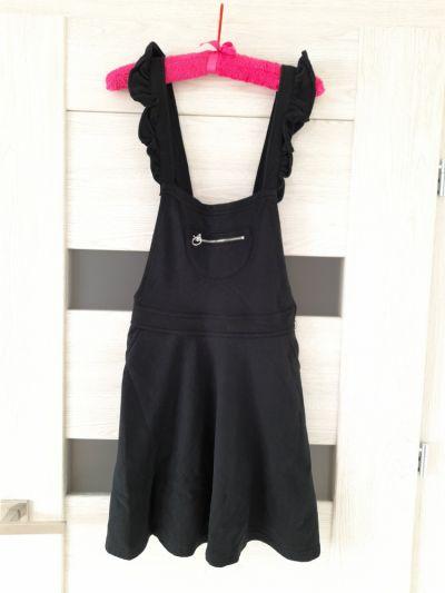 Suknie i sukienki Sukienka czarna dzianinowa