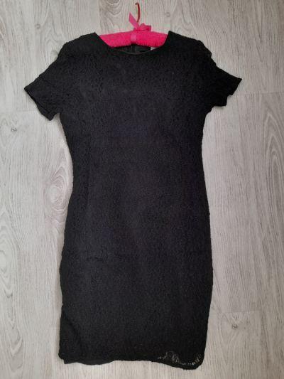 Suknie i sukienki Czarna sukienka koronkowa
