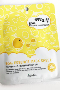 Maski w płachcie marki Esfolio...