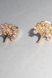Kolczyki złoto 333 z cyrkoniami...