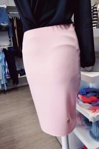 spódnica la blanche różowa 38 sexy glamour...